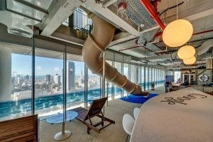 Toboggan Google de Tel Aviv
