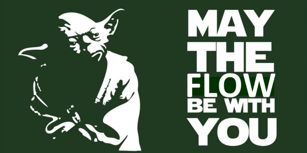 "Maître YODA : ""May the flow be with you"""